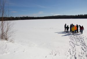 A winter field trip to Crystal Lake